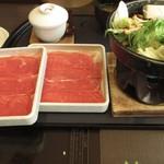 ゆず庵 - 牛すき焼膳