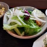 季節料理 大路 - ランチのサラダ