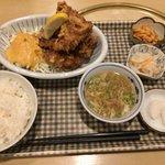 瑞鳳 - 料理写真:鶏唐揚げ定食780円(税別)(投稿分①)