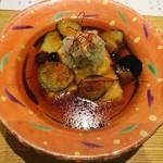 和食波奈 - 豆腐と茄子の揚げ出し