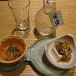 和食波奈 - 田酒&お通し
