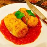 バル ペピート - 鶏ムネ肉のベシャメルコロッケ