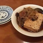食事処 酒肴 水口 - 肉豆腐