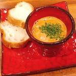 海老料理専門 プラウン&ロブスターバー えびっとる - オマール海老の旨味たっぷりスープ
