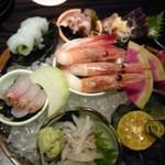 海鮮酒場 しーきんぐ - 料理写真:刺し盛り!