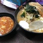 80554405 - 【2018.1.29】味噌麻婆麺¥770+チャーシュー¥100+定食¥170