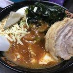 80554406 - 【2018.1.29】味噌麻婆麺¥770+チャーシュー¥100