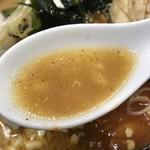 元祖旨辛系タンメン 荒木屋 - 【2018.1.29】豚ガラ主体の動物系スープに味噌のチューニング。
