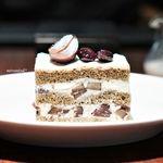 トラットリア セッテ ペストリーブティック - 栗と黒豆のショートケーキ