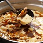 産直海鮮で宴会 すきずき - 肉豆腐