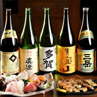 オリジナル厳選!日本酒・焼酎