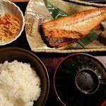 やまや - 『やまやのランチ 今日の日替わり定食(鯖塩焼き)』(税込み1000円)