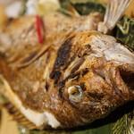 ジャンボ釣船 つり吉 - ものすごい量の塩焼きはさすがに飽きます