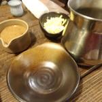 山芋の多い料理店 - 鍋の用意