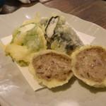 山芋の多い料理店 - 3種のとろろ天ぷら