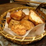 山芋の多い料理店 - 長芋から揚げ