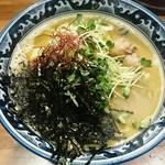 佐市 - 牡蠣拉麺  900円