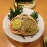 Woriduru - かに甲羅味噌