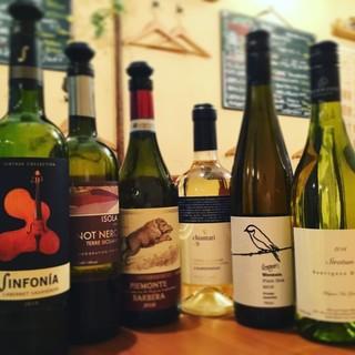 『ワイン』はもちろん、お酒の種類も豊富です!
