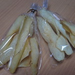 山芋の多い料理店 - お土産の大和いもくるりんチップス