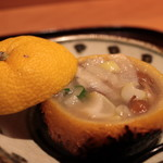 Shunai Sasaki - 牛テールの柚子釜焼き