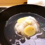 味 ふくしま - 銀杏入りの蕪蒸し