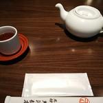 Tenshinhanten - お茶とおしぼり、お箸