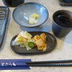 天ぷら倶楽部 - 新漬とキムチ