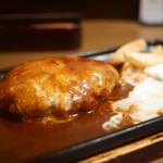 レストランあづま - チーズハンバーグ