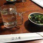 庄内酒場 三鷹 - 料理写真:お通し/牛スジ煮込み