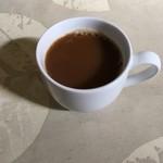 レストラン香港 - サービスのコーヒー('18/02/07)