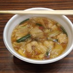 滝野庵 - 牛もつ鍋(正油味)