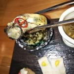 吉次蟹蔵 - 牡蠣のオイル漬け