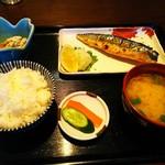 かみさと食堂 - 料理写真:さば焼き定食 ¥750