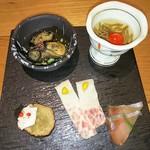 吉次蟹蔵 - 酒彩五種盛り