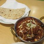 インド・ネパールレストラン ヒマラヤ - マトンマサラ&ロティ