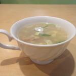 インド・ネパールレストラン ヒマラヤ - ランチスープ
