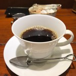 銀座2丁目ミタスカフェ - 食後にコーヒーがつきました