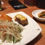 王十里 サランチェ - ランチセット これら+お椀にご飯、暖かいお茶