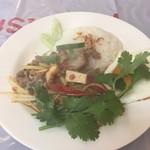 ギン・カーオ - 料理写真:パット・ペット・ムー・マラコー800円