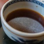 久下屋脩兵衛 - 鴨汁(かもじる)に浮(う)かむ鴨油(かものあぶら)