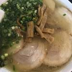 80571761 - 同僚のチャーシュー麺。