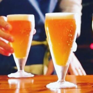 週替わりで4種類のクラフトビールを生ビールでご用意!