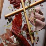 肉ビストロ 2986 - ハムの盛り合わせ(4種)