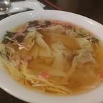 水漫庭 - 料理写真:ワンタンスープ