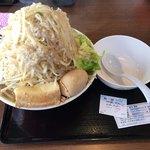 麺屋 夢幻 - 料理写真:味噌  麺300g 野菜増し増し 脂増し カラメ(味濃いめ)