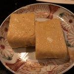 酒 龍馬 - 卵焼き、通常の四分の一