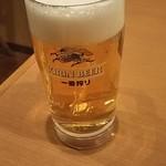 サイゼリヤ - キリン一番搾りジョッキ 399円♪