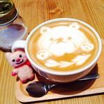 Cafe&Dining Bliss - 平日ならパンケーキとセットでお得のドリンク ヘーゼルナッツラテ