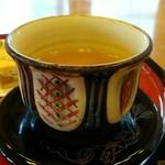 首里城 鎖之間 - さんぴん茶